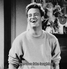 Chandler Bing Cute Smile