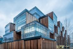 Allegro HQ's in Poznan, Poland - by JEMS Architecs