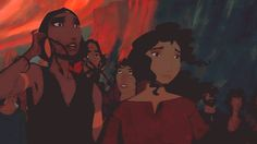 """somehow-you-will: """" The Prince of Egypt Appreciation Week, Day 3: Relationships ↳ Miriam and Tzipporah """""""