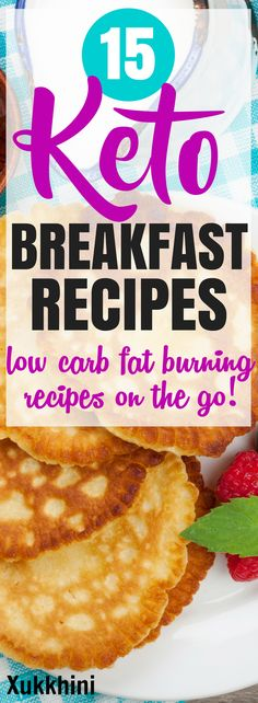 These quick and easy keto breakfast recipes are ideal to kick start your morning ketosis & keep you burning fat throughout the day. Includes both sweet & savory keto breakfast recipes. If you've not yet tried the ketogenic diet, this low carb option will help you lose weight fast #KetoBreakfast #KetoBreakfastRecipes #KetoBreakfastIdeas | Make Ahead Keto Breakfast | Keto Breakfasts for on the go | Ketogenic Diet Recipes to for Losing Weight