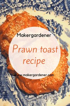 Recipe on how to make prawn toast chinese style from scratch. From the filling to the bread. #prawntoast. srcset=