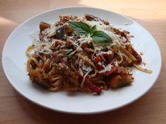Gourmandises végétariennes: Pasta alla Norma