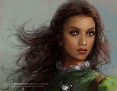 "Phoenixlu, ""Maria"".  I love her topaz eyes.  Arg, so pretty."