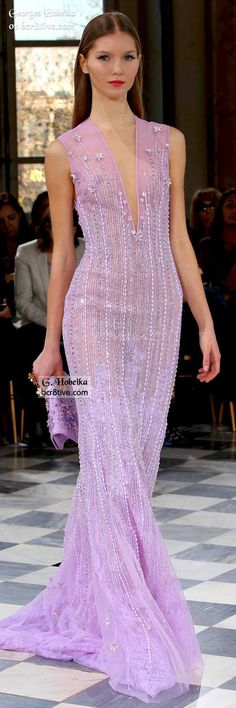 """Joyous and cheerful like the """"Cirses de Champs,"""" the Georges Hobeika Haute Couture Collection for Spring-Summer 2016 is a glowing tribute to Georges Hobeika, Style Couture, Couture Fashion, Fashion Week, Fashion Show, Looks Teen, Collection Couture, Evening Dresses, Formal Dresses"""
