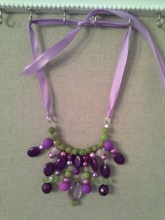 Mardi Gras Statement Necklace