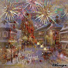 Happy+New+Year+Village