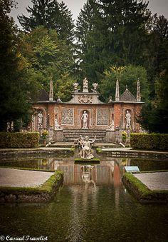 The gorgeous Hellbrunn Palace and #Gardens of #Salzburg, #Austria www.casualtravelist.com