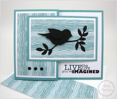 Really Good Greetings and the new Moonlight paper stack - Linda Aarhus design.