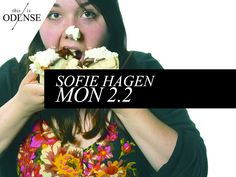 Sofie Hagen. Award winning Danish stand-up comedian - in English! See you at @studenterhusodense tonight. #sofiehagen #LaughingHorseNewActOftheYear #studenterhusodense #standup #standupiodense #thisisodense #mitodense #odense Read our recommendation at: http://www.thisisodense.dk/da/17326/sofie-hagen