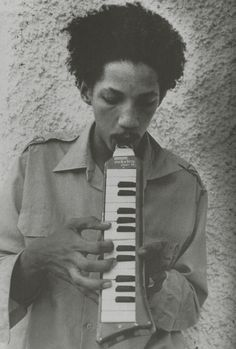 Augustus Pablo playing the melodica