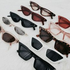 Discover the range of sunglasses available at ASOS. From aviator shades, to retro sunglasses. Cute Sunglasses, Cat Eye Sunglasses, Sunnies, Sunglasses Women, Winter Sunglasses, Lunette Style, Fake Glasses, Fashion Eye Glasses, Accesorios Casual