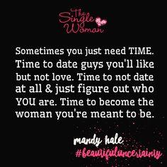 The single woman...