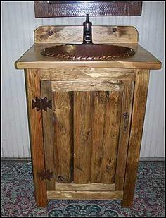 Vanities For Small Bathrooms Rustic do-it-yourself: wine barrel sinks | don miguel gascón | diy