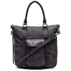 she + lo High Road Tote Bags ($328) ❤ liked on Polyvore featuring bags, handbags, tote bags, zip top tote bag, leather tote, black tote, genuine leather tote and black purse