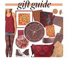 Warm gifts for the cold winter from my printshops  on Zazzle , Society6  and Artofwhere . Details about every item from this set - in my blog. Set on Polyvore - http://www.polyvore.com/gifts_in_warm_colors/set?id=212168651 #zazzle #society6 #giftguide #giftforher #leggings #casual #patternlove #patterns #patternmixing