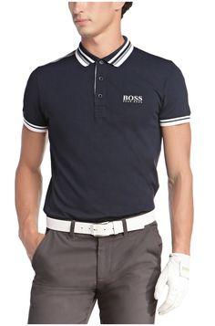 196bcf3616abb Hugo boss polo shirt · Slim fit golf polo shirt 'Paule Pro' with Moisture  Manager Golf Polo Shirts,