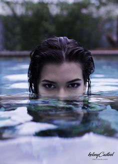 Photo by Kelsey Casteel #pool #photoshoot #ideas #summer #swimsuit #model