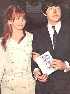 Paul McCartney and Jane Asher