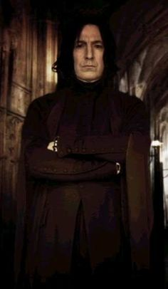 Severus Snape and arm buttons--not the buttons!  :)