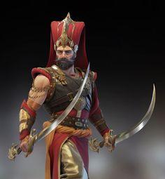 Fantasy Wizard, Fantasy Male, Fantasy Armor, Fantasy Character Design, Character Inspiration, Character Art, Paladin, Old Warrior, Saints Vs