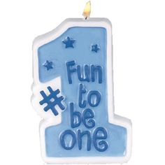 Boys First Birthday Blue Number One Cake Candle >>> You can get additional details at the image link. (This is an affiliate link)
