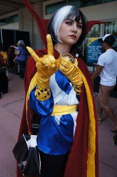 Female Doctor Strange cosplay.