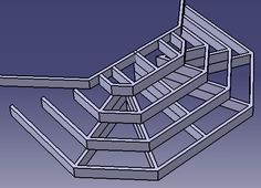 Building Deck Steps, Building A Floating Deck, Deck Bench Seating, Hot Tub Bar, Tree Deck, Patio Stairs, 4 Season Room, Patio Deck Designs, Pool Steps