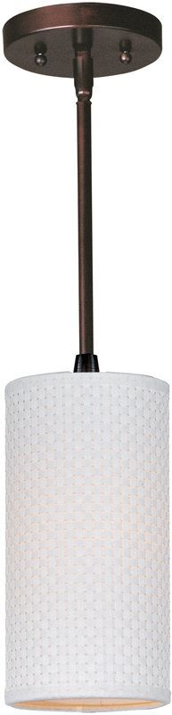 "View the ET2 E95022-100 1 Light 5"" Mini Pendant from the Elements Collection at LightingDirect.com."
