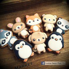 Cute animal cookies