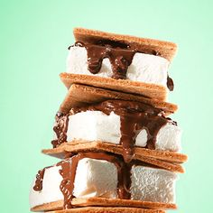 Change it up around the campfire with inventive s'more combinations, from peanut butter and chocolate to gingersnap cookies with caramel