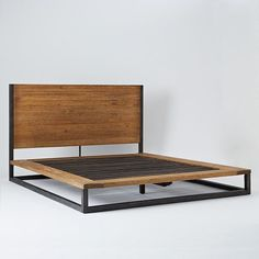 copenhagen bed frame west elm