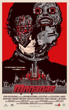 Manborg - Alternate Poster by Matthew Therrien (@Matthew Addonizio Therrien)