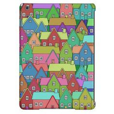 NEW: #House 002 #iPad air covers #JAMFotoWorms #Zazzle.com