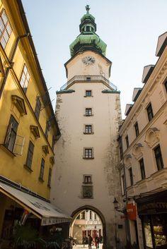 Michael's Gate, Bratislava, Slovakia.
