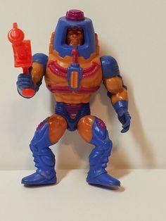 Vintage He-Man MOTU Masters of the Universe Action Figure Man-E-Faces Complete #Mattel