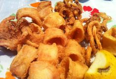 Onion Rings, Seafood, Good Food, Appetizers, Fish, Ethnic Recipes, Kitchens, Greek Recipes, Sea Food