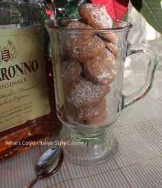 What's Cookin' Italian Style Cuisine: Authentic Chocolate Amaretti Cookies