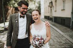 Urban berlin wedding portrait by A Tale of two Hearts