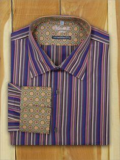 Luchiano Visconti Long Sleeve Sport Shirt