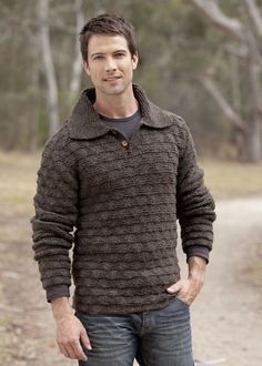 Man's Textured sweater