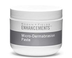 Rodan + Fields Micro-Dermabrasion Paste for exfoliation. My skin feels AMAZING after  just ONE use!