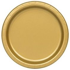 Creative Converting 317547 Sturdy Style Paper Dessert Plates, Black and Gold,