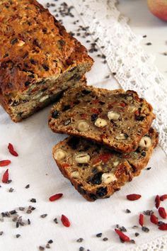 Trail Mix Apple Bread Recipe