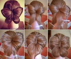 you have a butterfly in hair!!! :O - I totally want some one to do this to my hair!