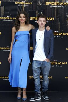 Zendaya Coleman and Tom Holland Launch Their Cuteness Tour for Spider-Man: Homecoming