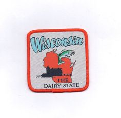 Hey, I found this really awesome Etsy listing at https://www.etsy.com/listing/262785685/vintage-wisconsin-state-patch