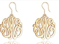 Monogram jewelry is always in fashion, whether your style is classic, modern or trendy.