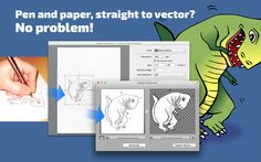 With Image Vectorizer you can go straight from your scanner to Vector file.