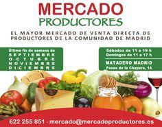 Mercado de Productores en Matadero Madrid http://www.gastronomiaycia.com/2014/08/31/mercado-de-productores-en-matadero-madrid/