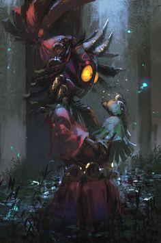 Skull Kid from The Legend of Zelda : Majoras Mask